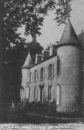 Le château de Lavaupot